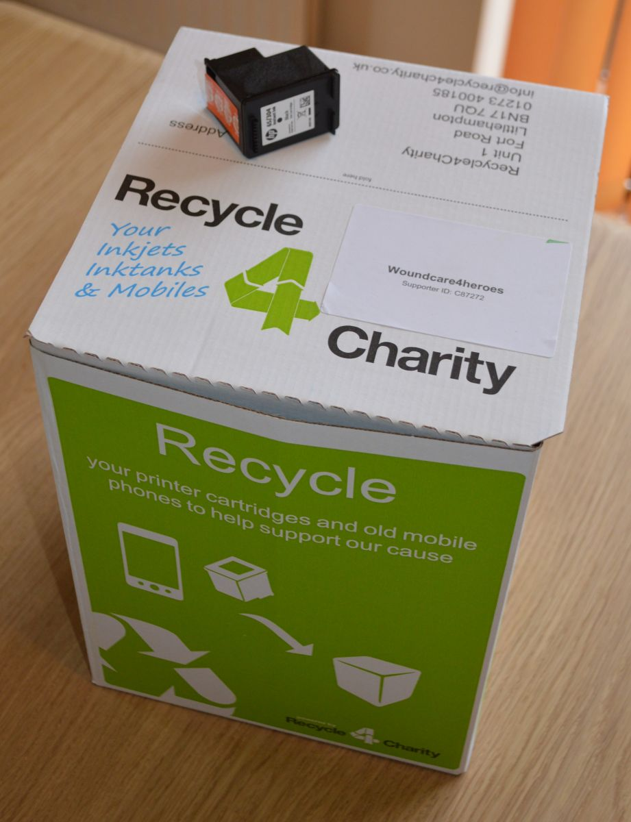 Recycle for charity