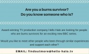 New BBC series on burns survivors