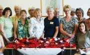 Remembrance Day knitted poppies boost funds for Woundcare4Heroes